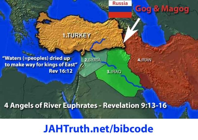 Four Angels of Euphrates